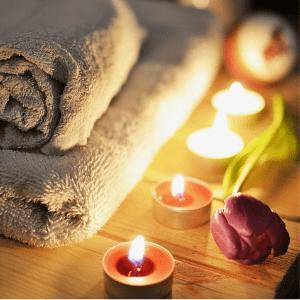 Relax je součástí rituálu pleťové masky